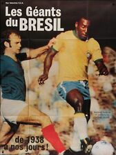 GIANTS OF BRAZIL French Grande movie poster 47x63 PELE FOOTBALL WORLD CUP NM
