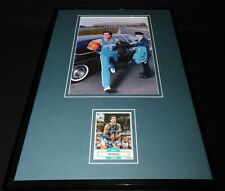 Kelly Tripucka Signed Framed 11x17 Photo Display Hornets Notre Dame