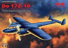 DORNIER Do-17 z-10 GERMAN NIGHT FIGHTER (LUFTWAFFE MKGS) 1/72 ICM NEW MOULDS!