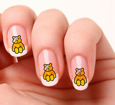 20 Nail Art Decals Transfers Stickers #06 -  Pudsey Bear just peel & stick