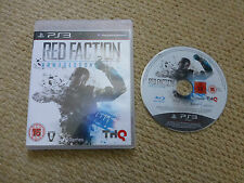 PLAYSTATION 3 PS3 game-red faction armageddon-pal uk