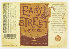 Odell Brewing Co EASY STREET WHEAT BEER label CO 12 oz Var. #2