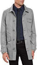 NAU Motil LIGHT WEIGHT Travel PACKABLE Work WIND Rain TRENCH COAT Jacket MENS sz