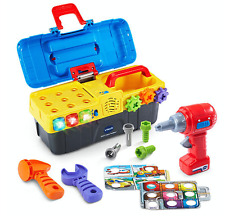 VTech Drill and Learn Tool Box Game Play Set Educational Toy Kids Toddler Gift