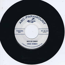 VINCE EVERETT - BOX OF CANDY / I'M SNOWED - '50s ROCKABILLY JIVER & STROLL (hear