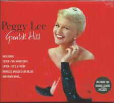 Peggy Lee - Greatest Hits (2CD 2009) NEW/SEALED