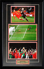 Team Spain 2010 World Cup Charles Iniesta Goal 3 photo frame