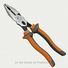 """Klein Tools 12098-EINS Electrician's Insulated Combo Pliers w/Crimping 8-3/4"""""""