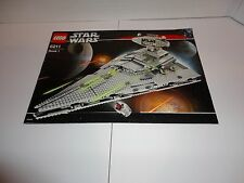 LEGO STAR WARS 6211 IMPERIAL STAR DESTROYER 100% COMPLETE W/ MANUALS