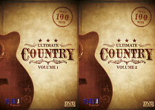 ULTIMATE COUNTRY VOL 1+2  KARAOKE COLLECTION SBI KARAOKE DVD - 225 HIT SONGS