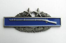 ARMY COMBAT INFANTRY BADGE CIB 3RD AWARD LARGE PIN BADGE 3 INCHES