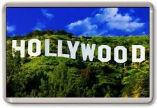 FRIDGE MAGNET - HOLLYWOOD SIGN - Large Jumbo - Los Angeles USA