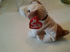 000 Ty Beanie Baby  Pinata 2000 Rufus Dog ~Nice with Hang TAGS RETIRED w Case