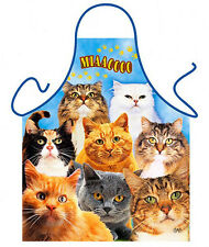 Kitty Cats kittens kitchen apron unisex cat lover gifts one size Polyester ITATI