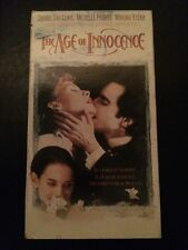 The Age Of Innocence Daniel Day Lewis Michelle Pfeiffer Winona Ryder VHS