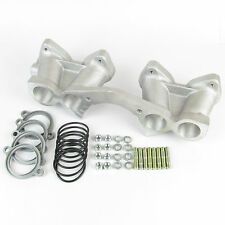 VOLVO B18/B20 AMAZON 1800/120/140 INLET MANIFOLD KIT WEBER/DELLORTO TWIN CARBS