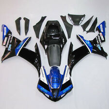 Black Blue Injection ABS Fairing BodyWork Kit For Yamaha YZF R1 YZFR1 2002-2003