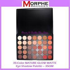 NEW Morphe Brushes 35 MATTE NATURAL GLOW Eye Shadow Palette 35OM FREE SHIPPING
