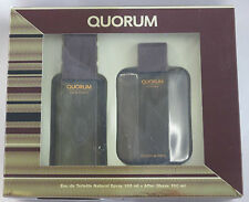 QUORUM 100ML EDT SPRAY+100ML AFTERSHAVE GIFT SET