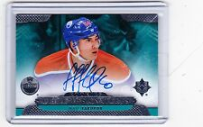 13-14 2013-14 ULTIMATE COLLECTION NAIL YAKUPOV ROOKIE SIGNATURES AUTOGRAPH OILER