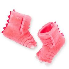 New Carter's Pink Dinosaur or Monster Claw Slippers Size 7 8 NWT Dress Up Girl