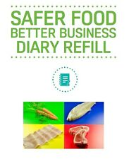 Safer Food Better Business Diary Refill Pack SFBB Food Hygiene FSA Compliance