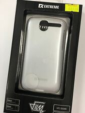 HTC Desire Extreme Film Hard Case in White XC-FA3HTCDWH Brand New & Sealed pack