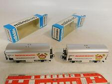AS447-0,5# 2x Märklin/Marklin H0/AC Bierwagen/Güterwagen Riegeler Brauerei, OVP