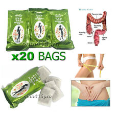 Weight loss, Clean Colon, 20 Bags Detox Tea Herbal Sliming Teatox, Diet Slim Fit