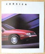 CHEVROLET CORSICA 1988 gamma USA inchiostri BROCHURE catalog-CL LT BERLINA
