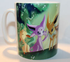 Custom Pokemon Go Eevee evolution Eeveelution Characters novelty gift mug