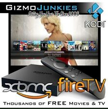 Jailbroken AMAZON FIRE TV BOX Model 2016,MOVIES XXX  Shows FULLY LOADED!