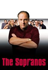 "The Sopranos poster - James Gandolfini poster - 11"" x 17"""