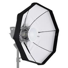 "60CM 24""Video Light Beauty Dish Softbox Strobe Flash Speedlite Bowens Mount X0C4"