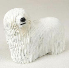 Komondor Hand Painted Collectible Dog Figurine