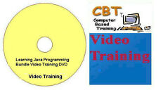 Learning Java Programming Bundle Video Training DVD