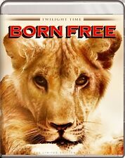 Born Free Blu-Ray - TWILIGHT TIME - Limited Edition Virginia McKenna - BRAND NEW