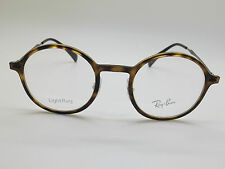 NEW Authentic Ray Ban RB 7087 2012 LightRay Tortoise Round 46mm Eyeglasses