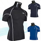 Men's Compression Body Armour Base Layer Tight Top Short Sleeve Muscle T-shirts