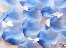 1000 LIGHT BLUE SILK ROSE PETALS WEDDING FLOWER FAVORS RP027