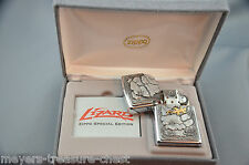 ZIPPO limited Golden Lizard - Special Edition in the black Zippo box