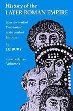 History of the Later Roman Empire: From the Death of Theodosius I to the Death o
