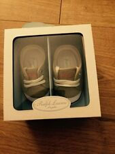 Baby Boys Ralph Lauren Shoes Trainers BNIB Brand New Polo UK2.5