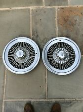 1972 - 79 Oldsmobile Cutlass Wire Hubcaps