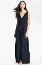 TART Collections 'Adrianna' Peacoat Navy Blue Maxi Dress - Sz S Classic & Sexy!