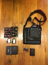 Canon EOS AF 5D Mark II 21.1MP Digital Camera Body w/ Battery Grip ; BL 402871