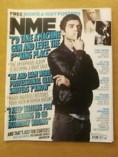 NME FEBRUARY 18 2012 DAVID BOWIE IGGY POP CRIBS NOEL GALLAGHER THE WHITE STRIPES