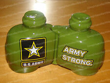 24713 - Army Strong Binoculars Salt & Pepper Shakers (Magnetic)