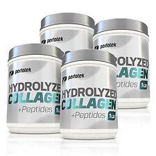 4 Pack Perfotek Premium Collagen Peptides Hydrolyzed Collagen Powder Gluten Free