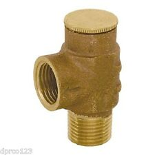 "1/2"" LEAD FREE Pressure Relief Valve for Tankless Water Heater  FREE SHIPPING"